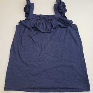 Cat & Jack Girls Tank Blue New without tags